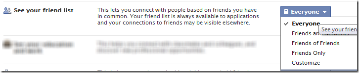 Click on 'View Settings' under 'Connecting on Facebook'.