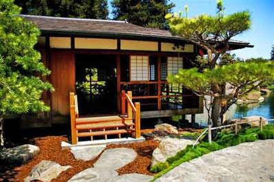 Gambar Desain Arsitektur Rumah Jepang