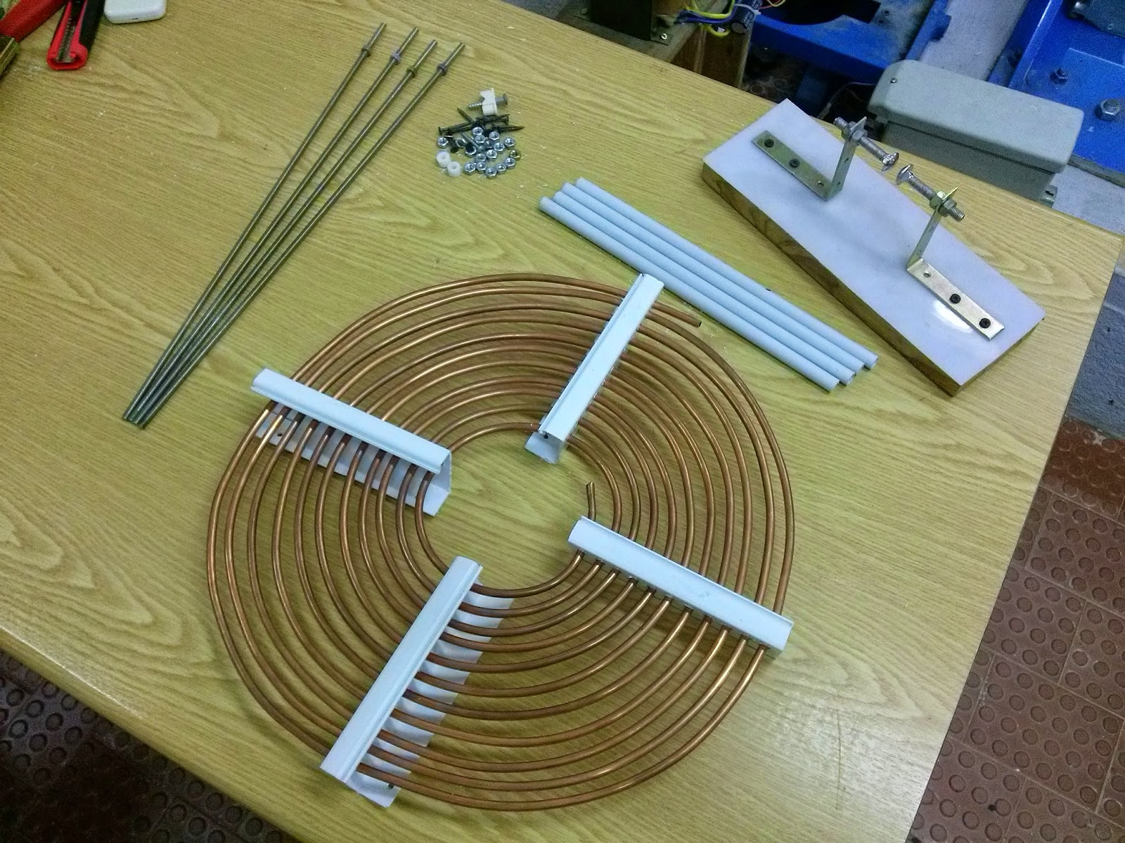 how to build flat coils
