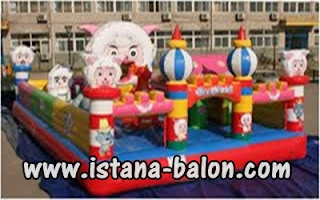 Istana Balon Happy Sheep 5x8