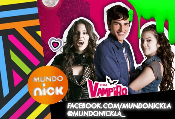... 30, por Nickelodeon, empieza la segunda temporada de Chica vampiro