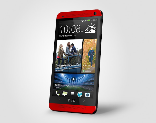Red HTC One