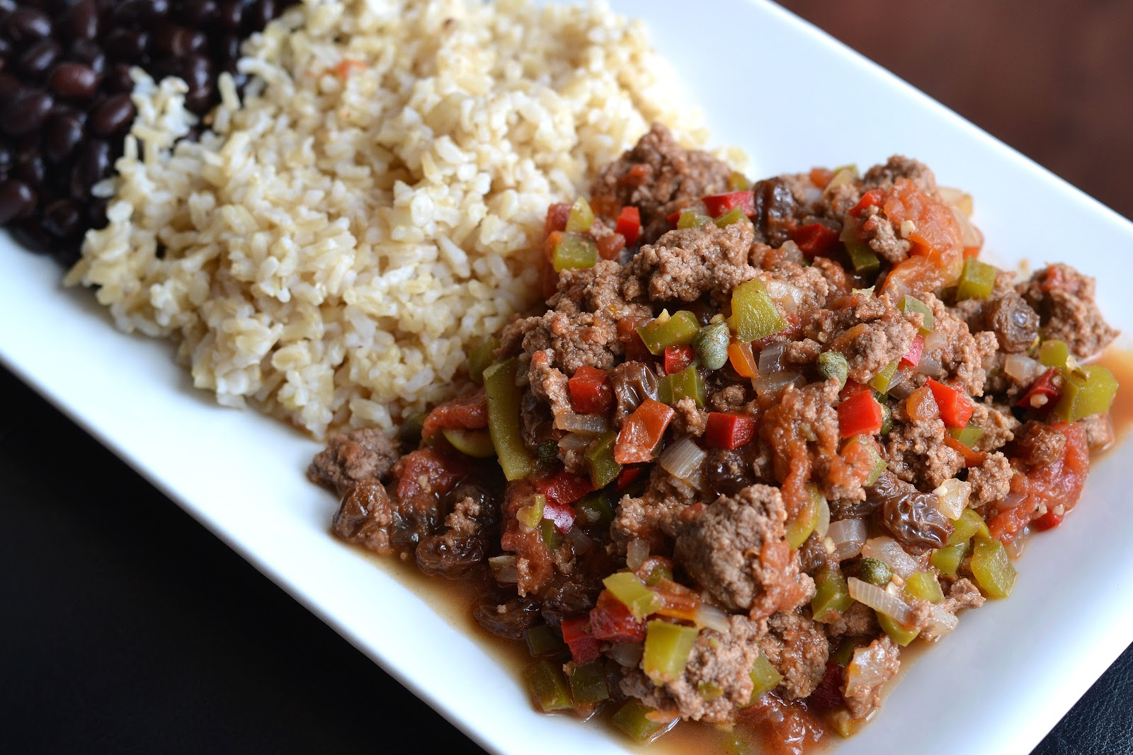 Type A Kitchen: Cuban-Style Picadillo