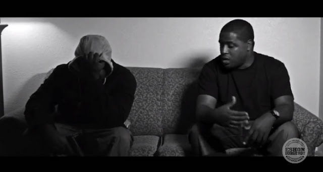 Eshon Burgundy- Tell you why - Music video - video still
