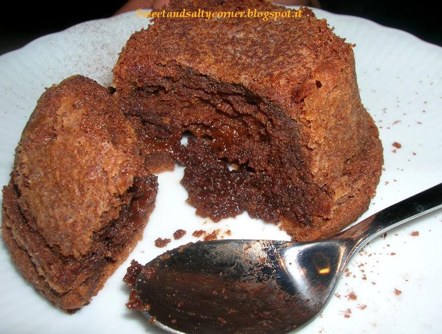 pudding di cioccolato fondente