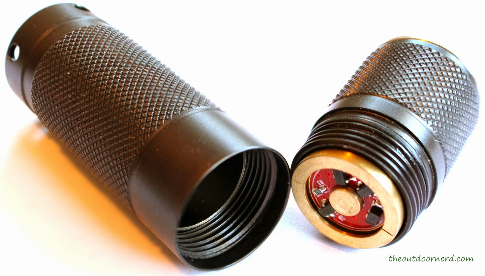 Nitecore Ex10 1xCR123A Flashlight : Head Removed