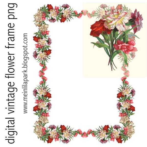 of floral frames - photo #9