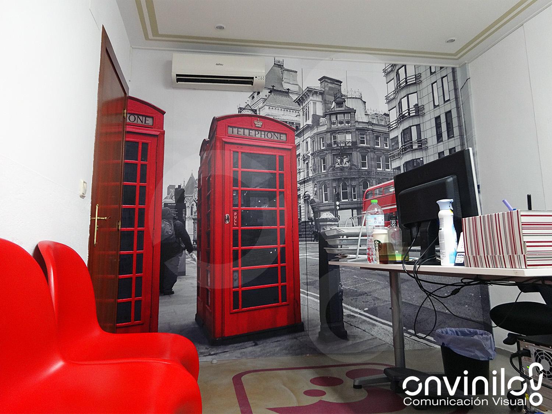 Onvinilo comunicaci n visual blog decoraci n de for Decoracion de interiores oficinas