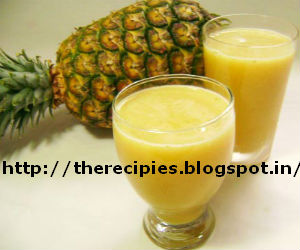 pineapple juice with black pepper