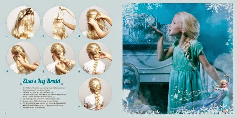 Frozen Hairstyles  elsa icy braid page sample