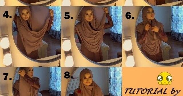 Tutorial Memakai Shawl Labuh Lebar Dan Panjang Irine Nadia | hnczcyw ...