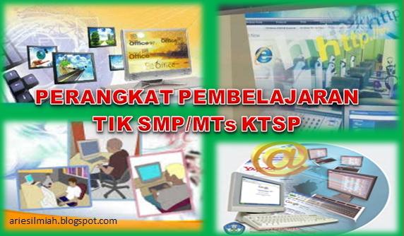 Js Aries Blog Perangkat Pembelajaran Tik Smp Mts Ktsp