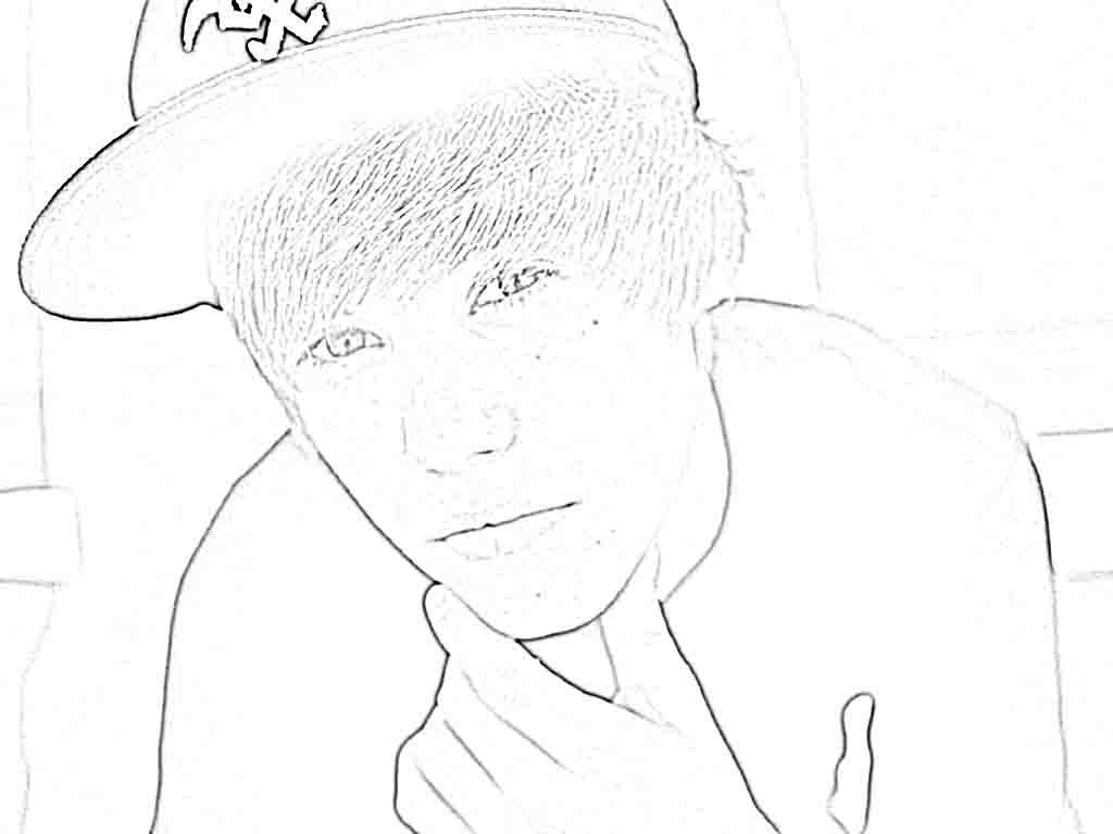 Coloring pages of justin bieber - Justin Beiber Coloring Pages Coloring Page Blog