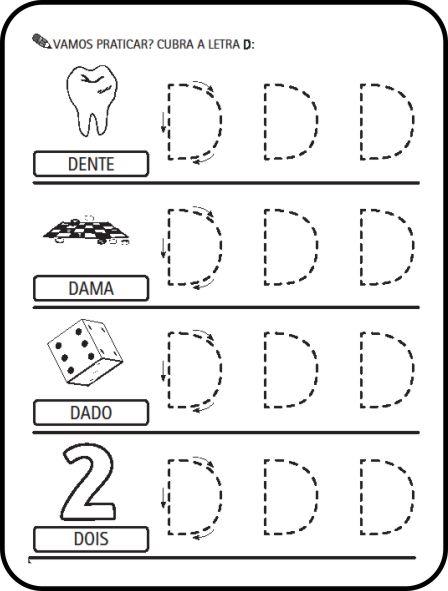 Alfabeto Pontilhado E Tracejado Para Imprimir Cobrir Pintar