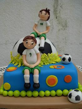 bolo de aniversário de menino