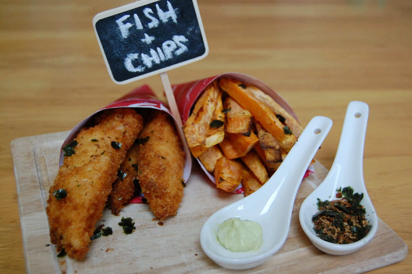 Fiona 39 s japanese cooking japanese style fish chips recipe for Fish and chips recipes