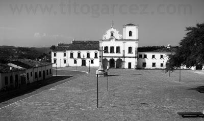 Igreja de São Francisco, convento de Santa Cruz e museu de Arte Sacra, na praça São Francisco, em São Cristóvão - Sergipe - Por Tito Garcez