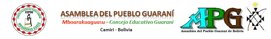 Consejo Educativo Guaraní