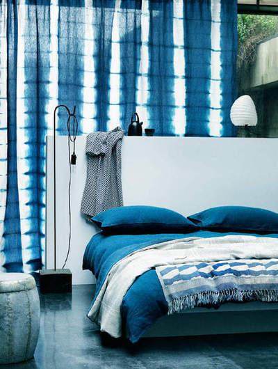 tie dye ombre bedroom wallpaper fabric home d cor design bedding
