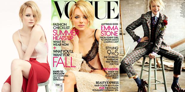 Porque amar Emma Stone_vestido segunda pele_capa vogue de julho_o espetacular homem-aranha_spider man