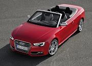 Red 2012 Audi S5 Cabriolet