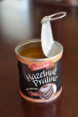 Playing with Flour: Hazelnut cake with praline and milk ...