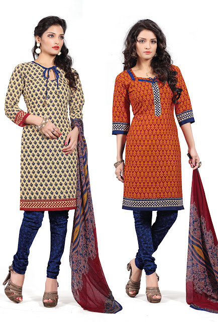 Kiss Miss-4 – Chanderi Cotton Dress Material