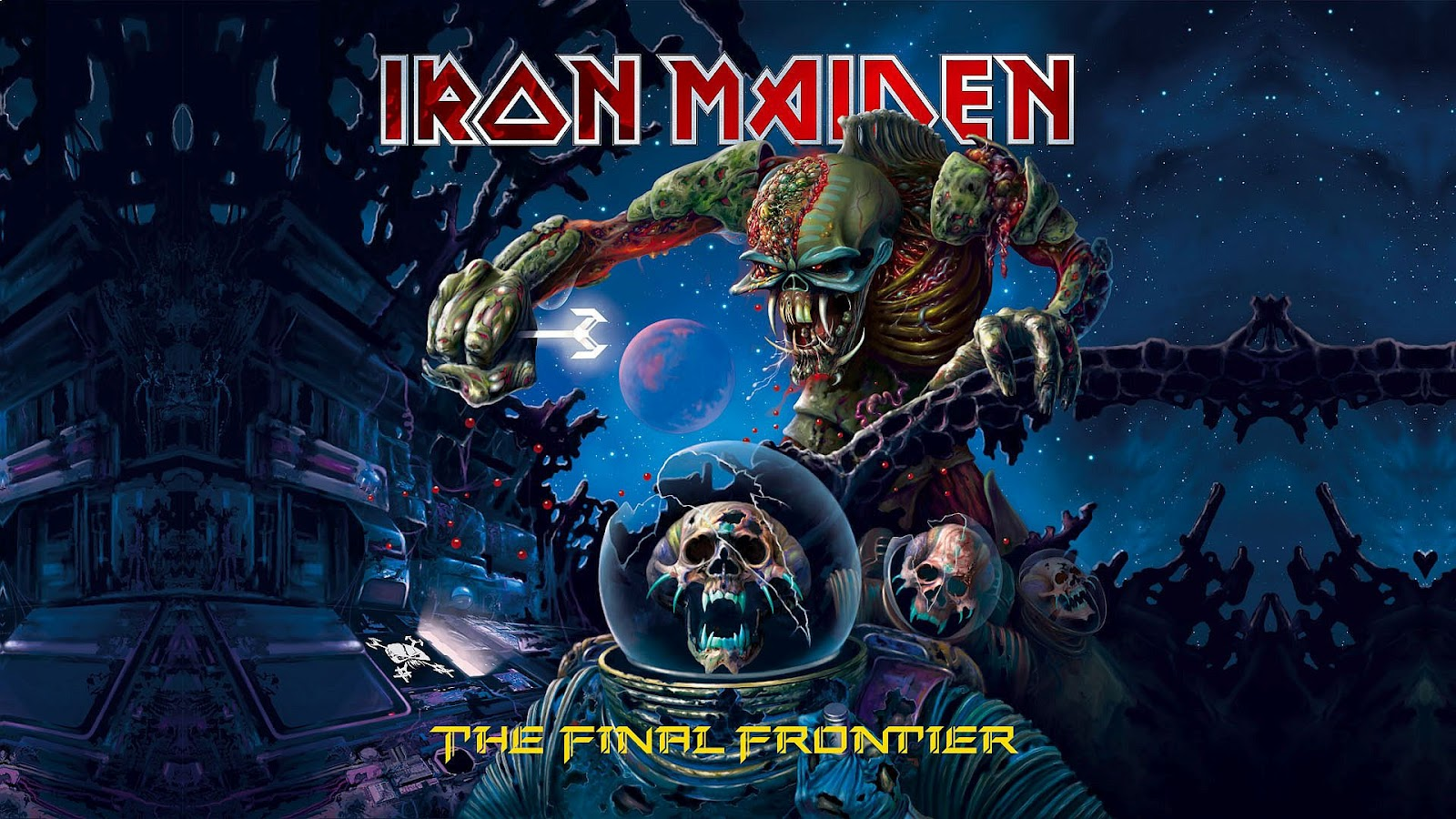 Iron maiden Wallpaper the final frontier