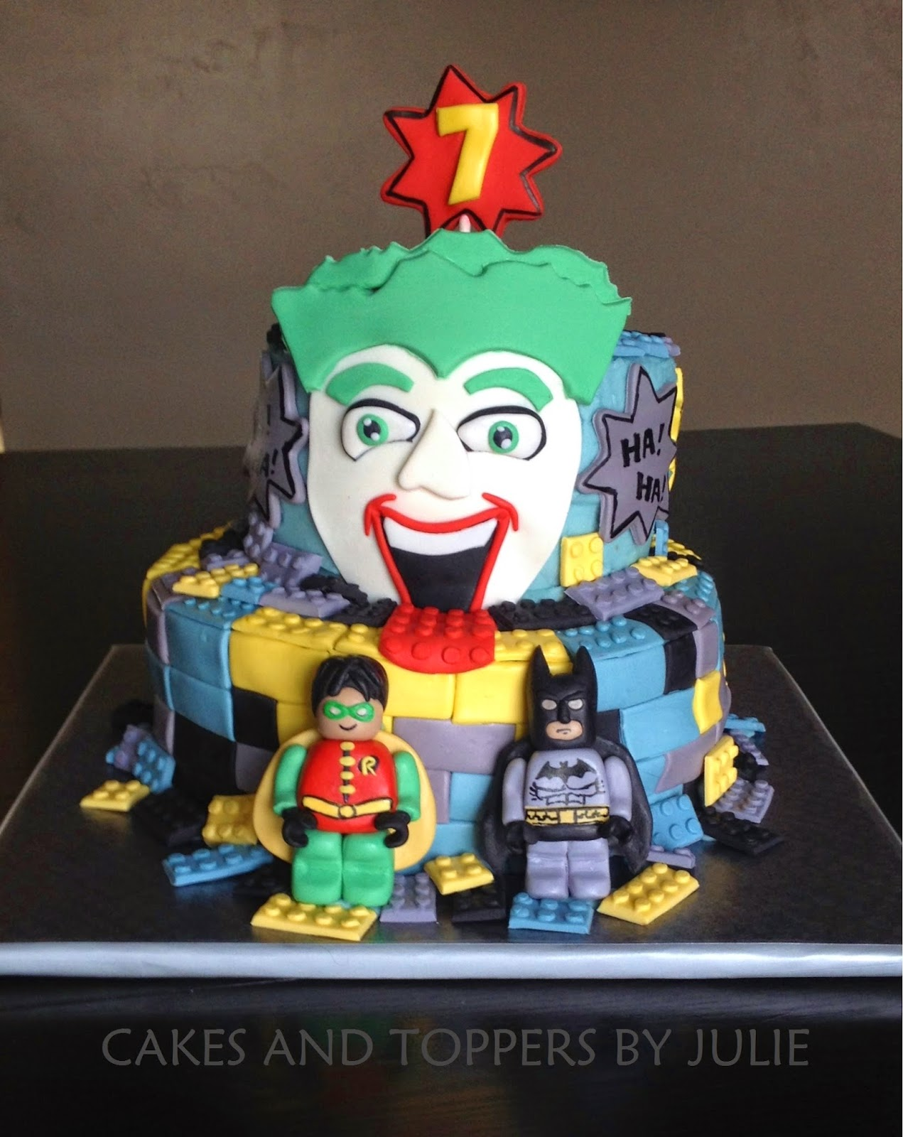 Batman Lego Cakes Pinterest