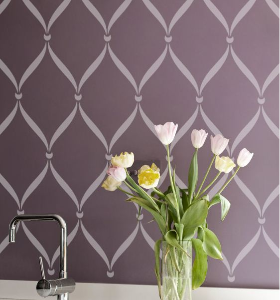 Wall Stencils Royal Design : Stencil ideas wall stencils royal design studio