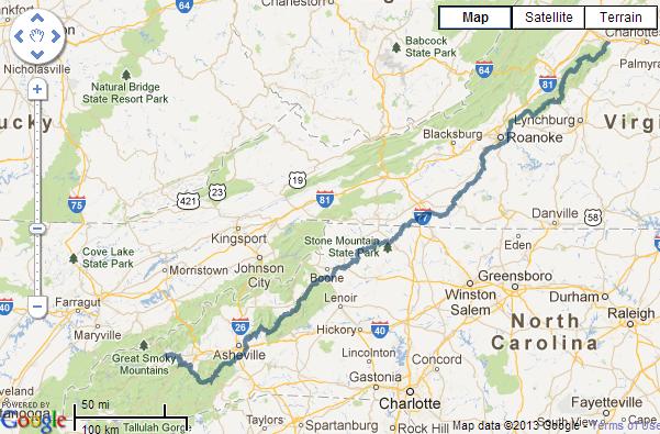 Traveling Virginia: BLUE RIDGE PARKWAY