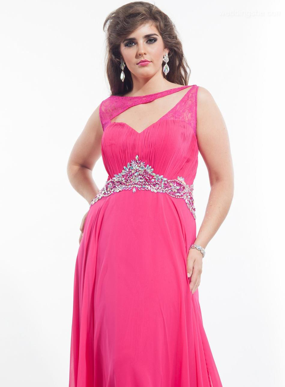 Empire Line Evening Dresses Plus Size 99