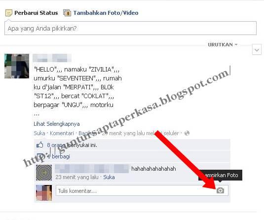 cara membuat emoticon di komentar fb, gimana cara komentar fb pakai ...