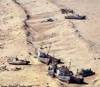 Laut Hilang Di Sempadan Uzbekistan Dan Kazakhstan