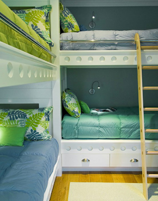 decoracion dormitorio literas
