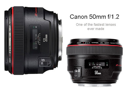 Canon 50mm f/1.2 L IS USM