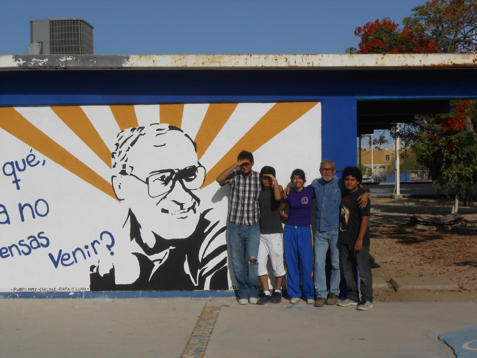 Prepa morelos cch unam mural mutilado quitaron el for Mural prepa 1 uaemex