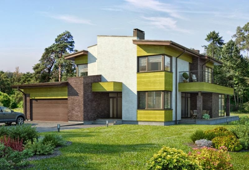 Fachadas de casas modernas fachadas de casas modernas lujosas for Disenos de casas lujosas