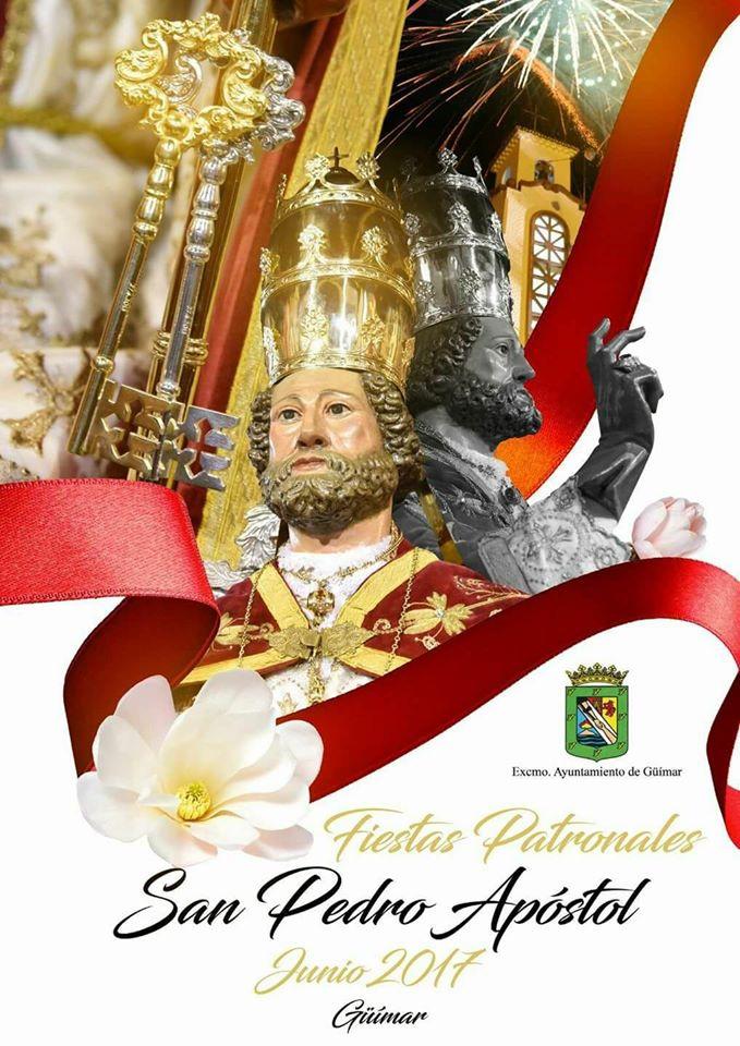 Programa de las Fiestas Patronales en honor a San Pedro Apóstol 2017. Pincha en el cartel