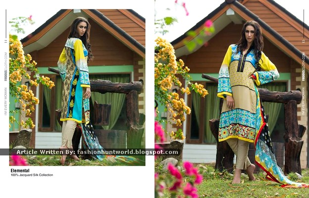 Firdous Fashion New Summer Designs 2015