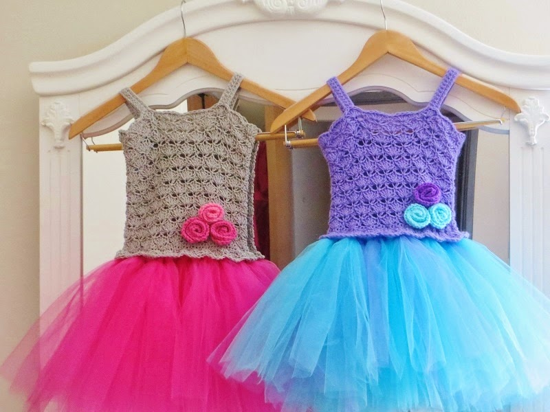 How To Crochet Baby Dress Pattern : Crochet Dreamz: Tutu Dress Crochet Pattern, Crochet Baby ...
