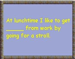 imagen con una frase para utilizar el get con una preposición