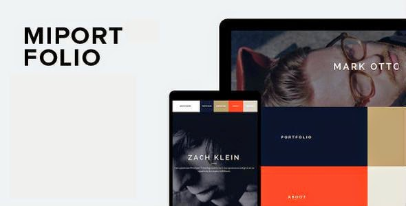 Responsive One Page Creative WordPress Theme