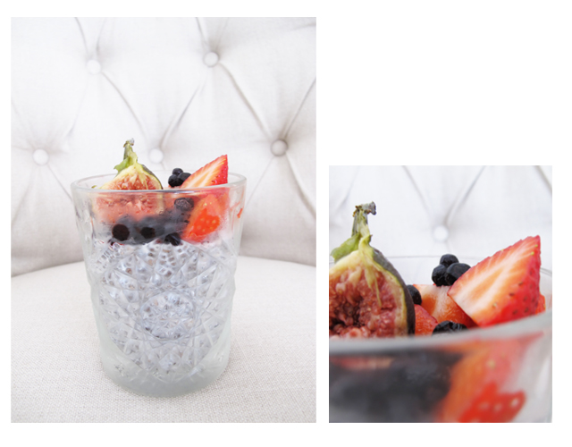 Chia Pudding, Chiapudding, Healthy, Fresh berries