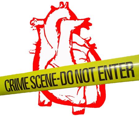 Poesía visual: Escena del crimen