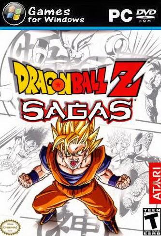 Games Dragon Ball Z-Sagas {2014} For PC Free,Gratis Download