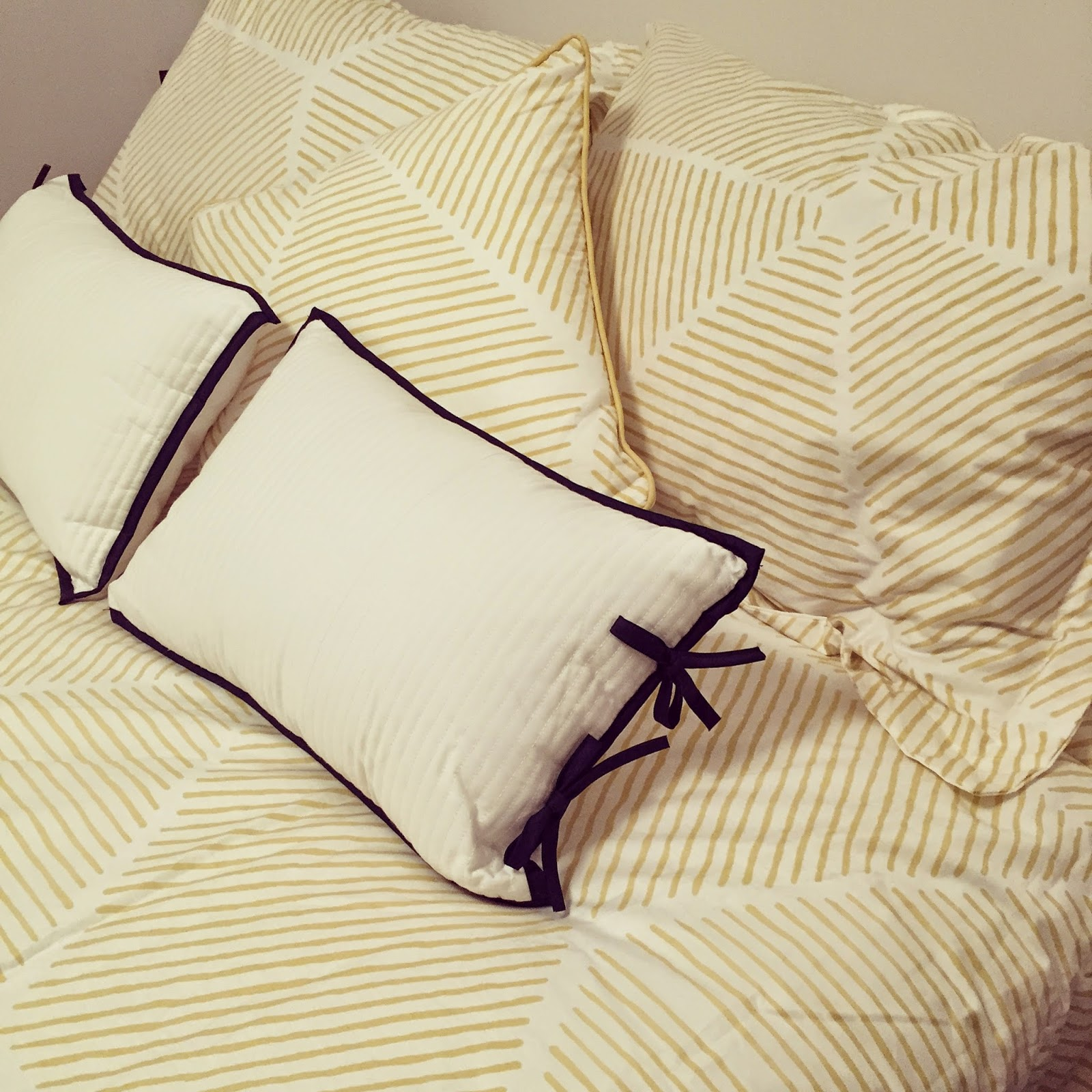 Redoing my bedroom with a bright new bed set