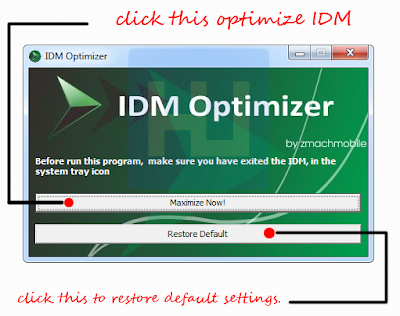 Increase IDM Download Speed