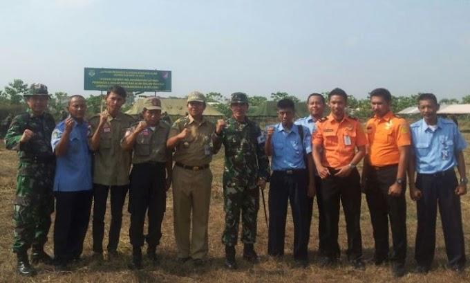 Korem 052/Wkr Gelar Latihan Penanggulangan Bencana Alam