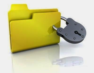 cara-kunci-folder